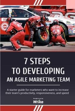 7 Steps to Developing an Agile Marketing Team (in inglese)