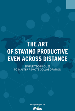 The Art of Staying Productive Even Across Distance (in inglese)